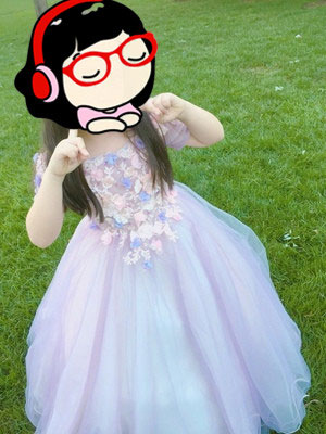 Flower Girl Dress for Wedding and Prom