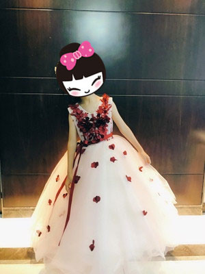 Lovely Ball Gown for Flower Girl, Wedding Flower Girl Dress
