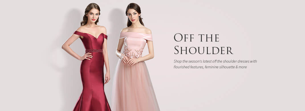 Off Shoulder Dresses for Women